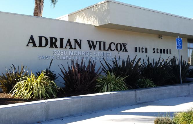 Police and school district officials are investigating an alleged bullying incident at Adrian Wilcox High School in Santa Clara. Photo: Courtesy Wikipedia