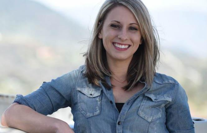 Congresswoman Katie Hill. Photo: Courtesy Hill for Congress campaign