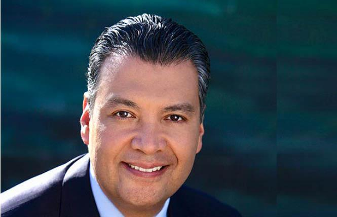 California Secretary of State Alex Padilla
