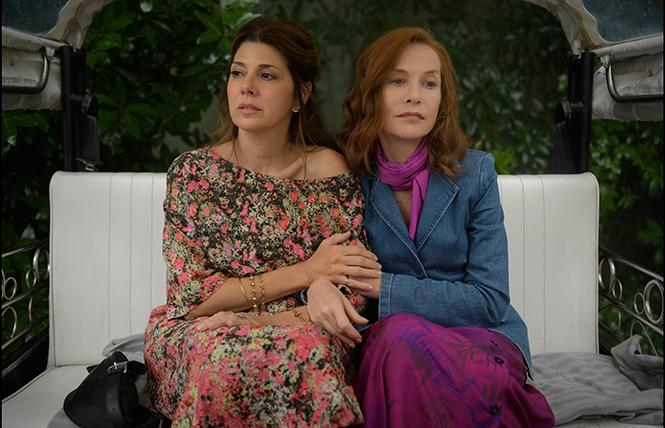 "Marisa Tomei and Isabelle Huppert in director Ira Sachs' ""Frankie."" Photo: Sony Pictures Classics"