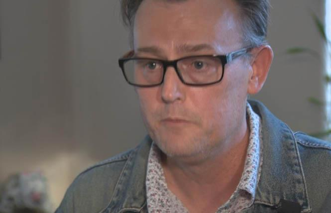 Brian Condrey, a professor at Yuba College, fought his insurance company because it would cover most services for his trans daughter. Photo: Courtesy KCRA-TV