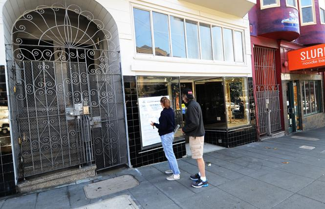 The San Francisco Planning Commission did not have enough votes to review a planned falafel restaurant at 463 Castro Street. Photo: Rick Gerharter
