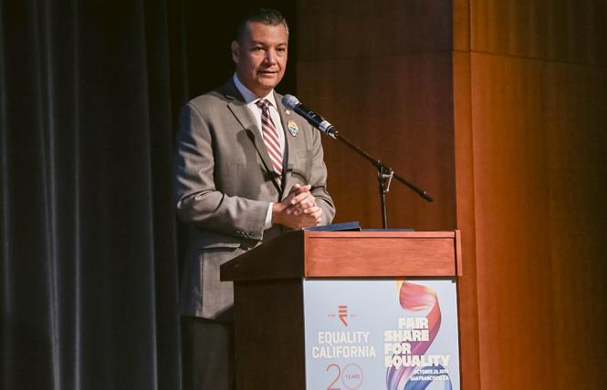 California Secretary of State Alex Padilla. Photo: Courtesy EQCA
