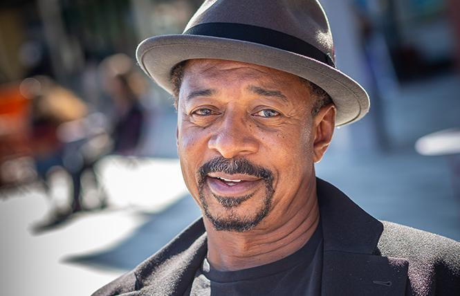"Actor, director, and filmmaker Robert Townsend offers a one-man ride through show business in ""Living the Shuffle"" at The Marsh Berkeley. Photo: Daniel Baumer"