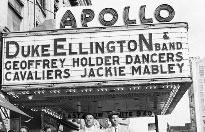"Vintage photo of the Apollo Theater in Harlem, from director Roger Ross Williams' ""The Apollo."" Photo: Courtesy the Apollo Theater"