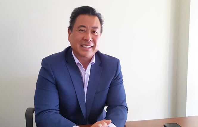 San Francisco Sheriff-elect Paul Miyamoto. Photo: Cynthia Laird