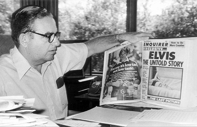 """Generoso Pope, Jr. in director Mark Landsman's """"Scandalous: The Untold Story of The National Enquirer."""" Photo: Magnolia Pictures"""