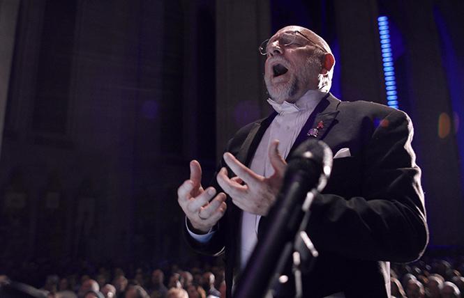 San Francisco Gay Men's Chorus Artistic Director Dr. Tim Seelig. Photo: MTV Documentary Films