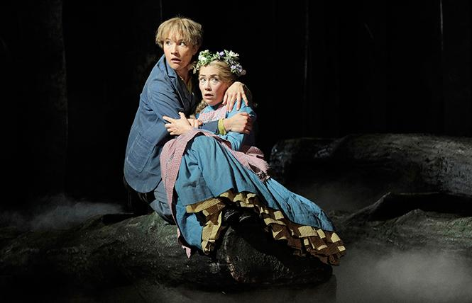 "Sasha Cooke as Hansel and Heidi Stober as Gretel in SF Opera's ""Hansel and Gretel."" Photo: Cory Weaver/San Francisco Opera"