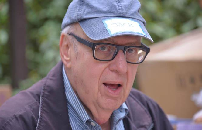 Longtime National AIDS Memorial Grove volunteer and former board member Jack Porter died last week. Photo: Bill Wilson