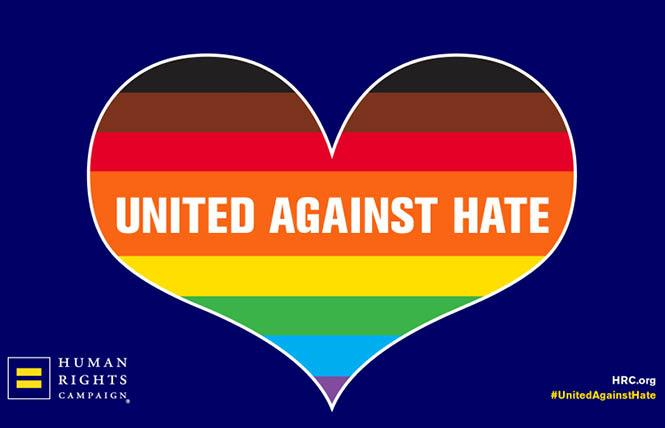 The Human Rights Campaign has called for mandatory reporting of hate crimes. Photo: Courtesy HRC