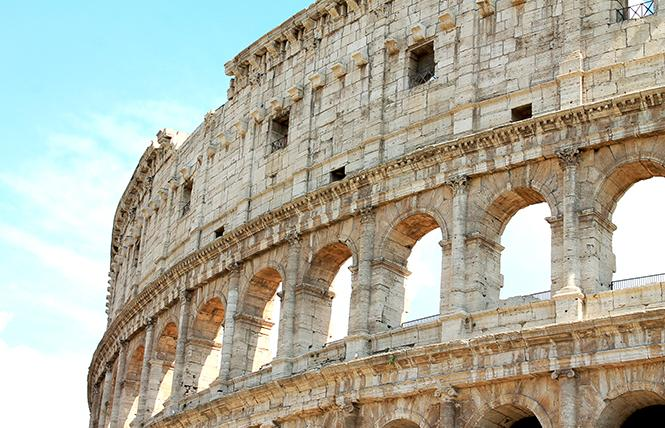 The Colosseum in Rome is not to be missed. Photo: Heather Cassell