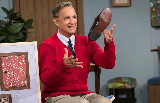 "Tom Hanks in director Marielle Heller's ""A Beautiful Day in the Neighborhood."" Photo: Sony Pictures"
