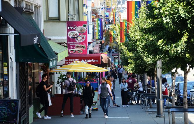 The city's LGBTQ Cultural Heritage Strategy will focus on preserving the city's queer cultural districts, like the Castro, among other things. Photo: Rick Gerharter