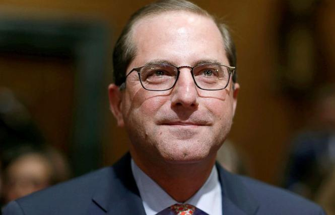 Health and Human Services Secretary Alex Azar. Photo: Courtesy ABC News
