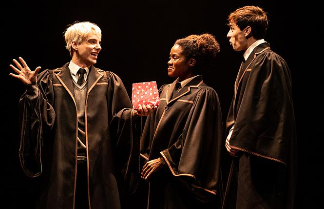 "Scene from ""Harry Potter and the Cursed Child,"" now playing the Curran Theater. Photo: Matthew Murphy"