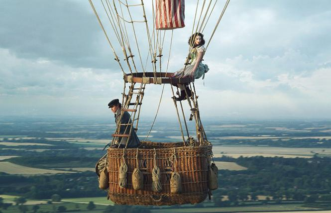 "Scene from director Tom Harper's ""The Aeronauts."" Photo: Amazon Studios"