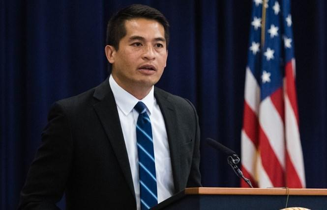 Patrick Bumatay was confirmed as a judge to the 9th U.S. Circuit Court of Appeals. Photo: Courtesy Department of Justice