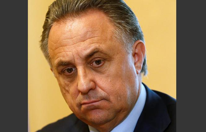 Former Russian sports minister Vitaly Mutko