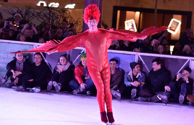 Drag Queens on Ice  @ Safeway Holiday Ice Rink