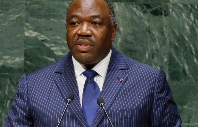 Gabon president Ali Bongo Ondimba addressed the United Nations General Assembly in 2014. Photo Credit: AP file photo/Frank Franklin II