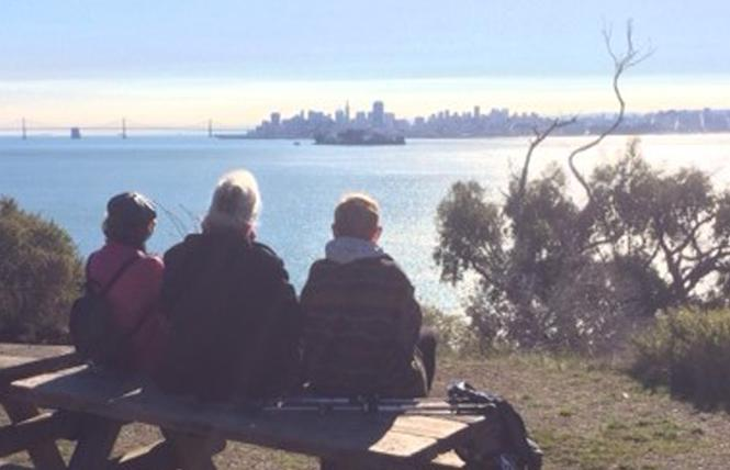 Hikers enjoyed views of San Francisco during a previous First Day Hike. Photo: Courtesy CA State Parks