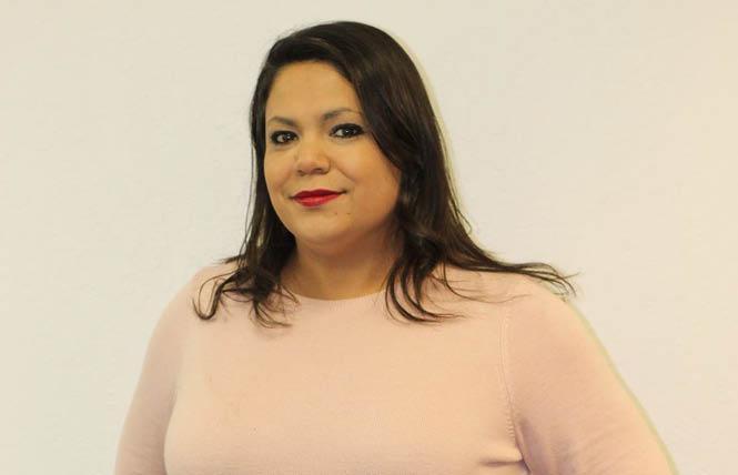 Nicole Altamirano is the new interim president and CEO of Silicon Valley Pride. Photo: Courtesy SVP