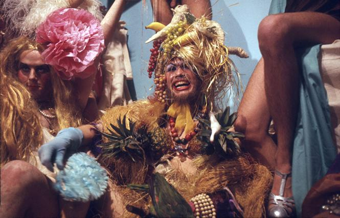 "Kreemah Ritz and Hibiscus, from ""Luminous Procurusses,"" 1970. Photo: Steven Arnold"