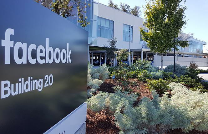Media Alliance and other organizations are planning a protest at Facebook headquarters January 9. Photo: Courtesy companyheadquarters.org