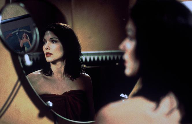 """Laura Harring in director David Lynch's """"Mulholland Drive."""" Photo: BAMPFA"""