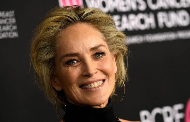 Actress Sharon Stone. Photo: Courtesy AP