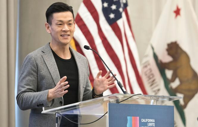Assemblyman Evan Low will serve as national co-chair for Democratic presidential candidate Andrew Yang's campaign. Photo: Tia Gemmell