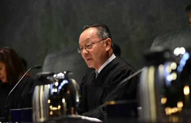 State Supreme Court Justice Ming Chin. Photo: Courtesy CA Courts Newsroom
