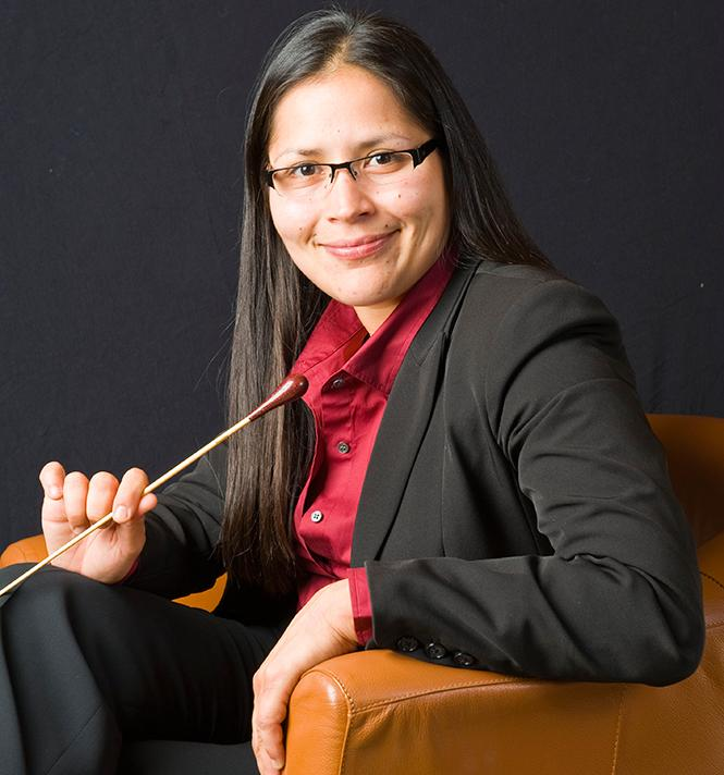 San Francisco Philharmonic Music Director and Founder Jessica Bejarano. Photo: SFP