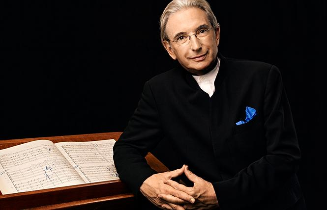 San Francisco Symphony Music Director Michael Tilson Thomas. Photo: Art Streiber