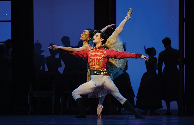 "San Francisco Ballet dancers Frances Chung and Joseph Walsh in Christopher Wheeldon's ""Cinderella."" Photo: Erik Tomasson"
