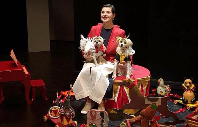 Isabella Rossellini's Link Link Circus @ The Chapel Mon 3