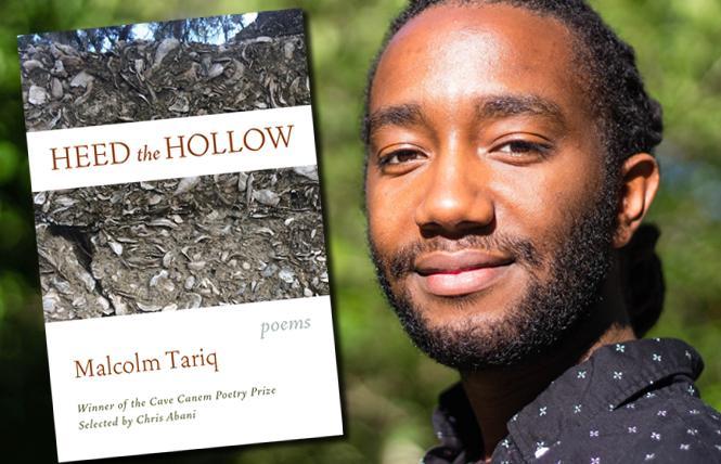"""""""Heed the Hollow"""" author Malcolm Tariq. Photo: Karisma Price"""