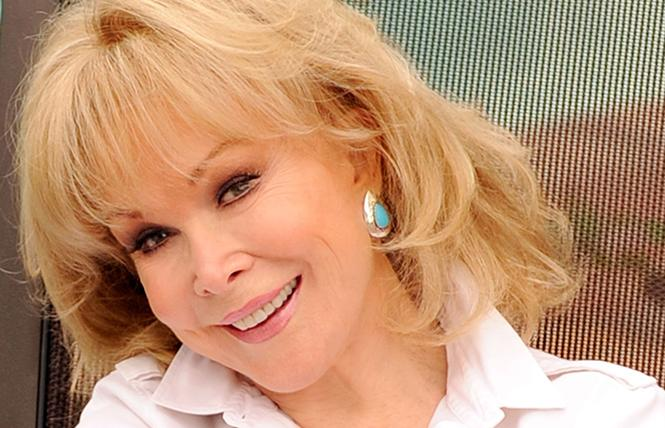 Barbara Eden: Out of the lamp, into SF. Photo: Michael Caulfield/Getty Images