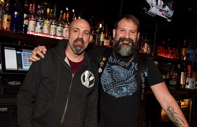 Jeff and Gage will serve you at The Eagle. photo: Steven Underhill