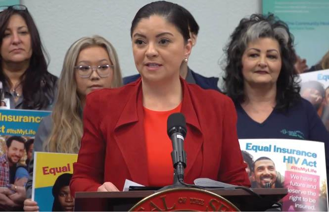 State Senator Lena Gonzalez. Photo: YouTube screenshot