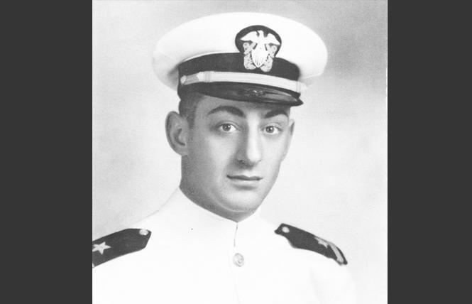 U.S. Navy portrait of then Ensign Harvey Milk. Photo: Courtesy U.S. Navy