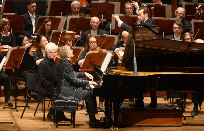Last Friday night's San Francisco Symphony concert featured conductor Fabien Gabel and pianist Jean-Yves Thibaudet. Photo: Kristen Loken