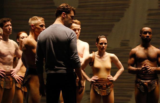 Artistic Director-Designate Michael Novak in rehearsal with Paul Taylor Dance Company. Photo: Paul B. Goode