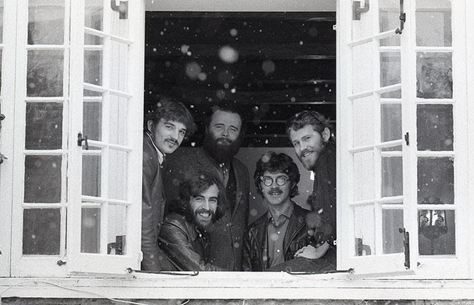 """The Band in """"Once Were Brothers: Robbie Robertson and The Band."""" Photo: David Gahr, Magnolia Pictures"""