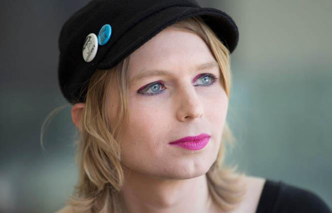 Chelsea Manning is seeking to be released from prison, where she has been held since refusing to comply with a subpoena. Photo: Courtesy The Action Network