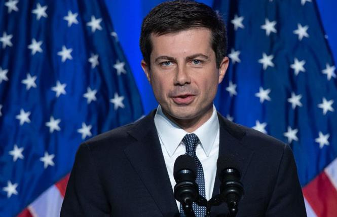 Democratic presidential candidate Pete Buttigieg. Photo: Courtesy Pete for America