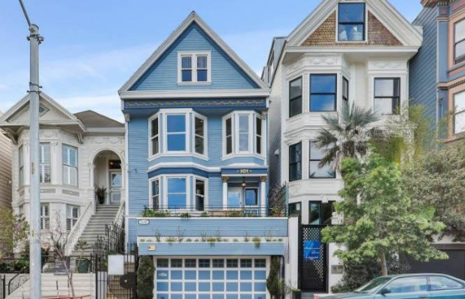 A home on 18th Street that is famous in France was recently put on the market. Photo: Courtesy Compass