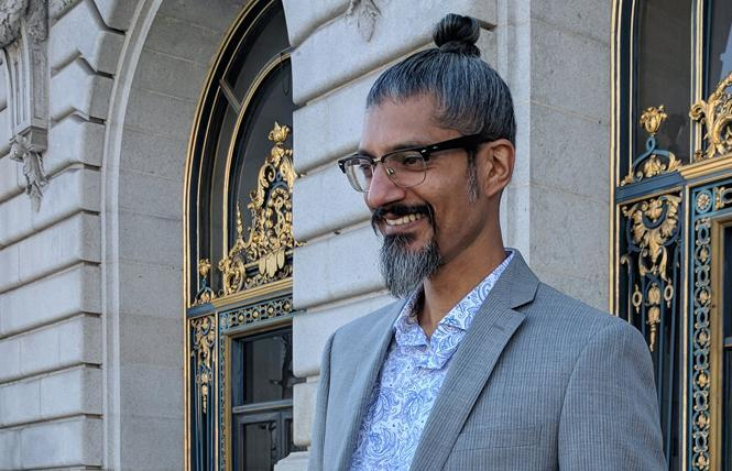 Progressive Democratic attorney and deejay Shahid Buttar is challenging House Speaker Nancy Pelosi. Photo: Courtesy Shahid Buttar