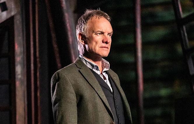 "Sting starring in ""The Last Ship."" Photo: Matthew Murphy"